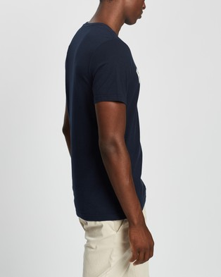 Barbour - Ridge Logo Tee T-Shirts & Singlets (Navy)