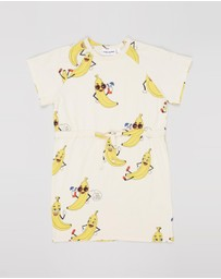 Mini Rodini - Banana All-Over-Print Dress - Kids-Teens
