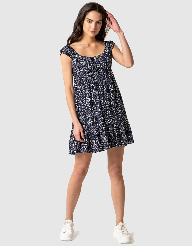 Forever New - Peggy Cap Sleeve Day Dress
