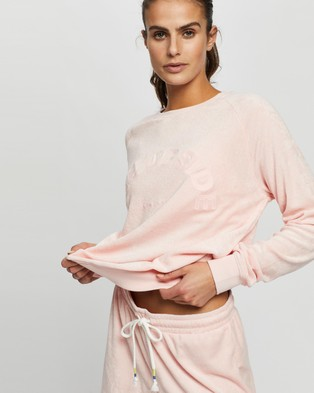 The Upside Florencia Bondi Crew - Crew Necks (Dusty Rose)