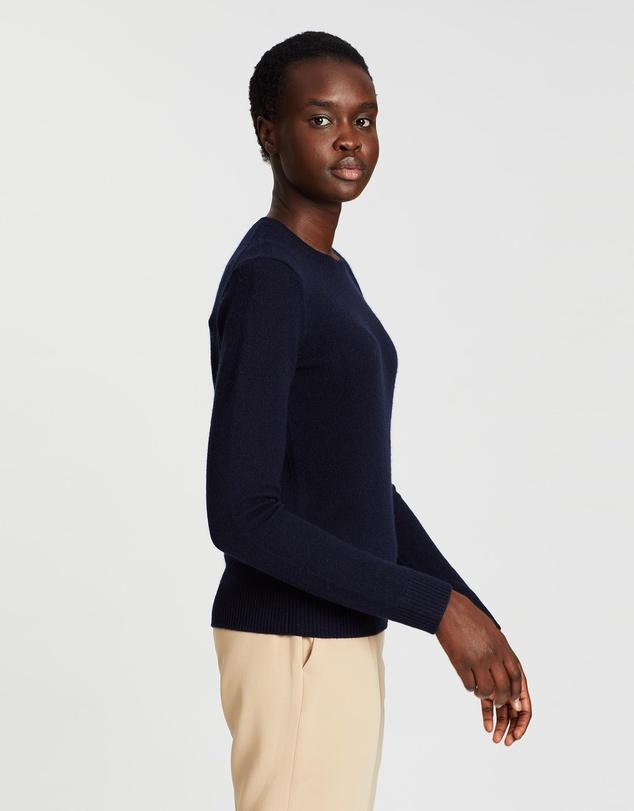 Women Crew Neck Cashmere Pullover