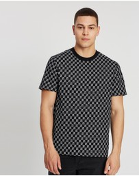 Calvin Klein Jeans - All-Over-Print Relaxed Short Sleeve Tee