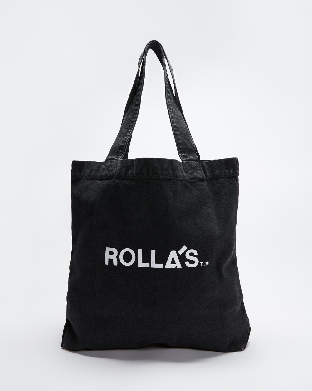 Rollas Rolling Stone 1981 Tote Bags Washed Black Australia