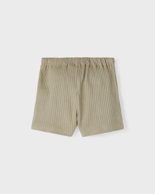 Lil' Atelier - Sixten Loose Shorts   Kids - Shorts (Sage) Sixten Loose Shorts - Kids