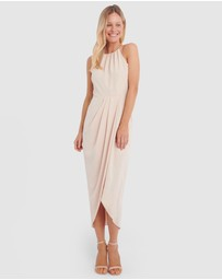 Forcast - Odessa Halterneck Midi Dress