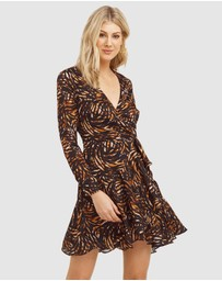Cooper St - Del Rio Wrap Mini Dress