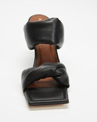 Alohas Sandals Twist Strap  - Sandals (Black)