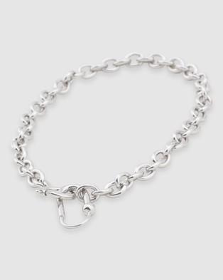 Peter Lang Nova Necklace - Jewellery (Silver)