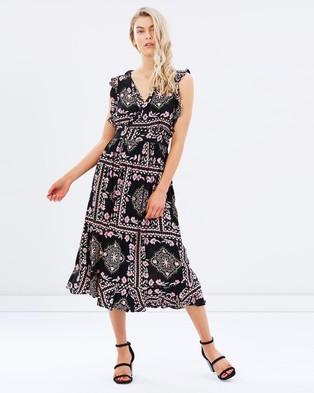 Steele – Azalea Wrap Dress Azalea