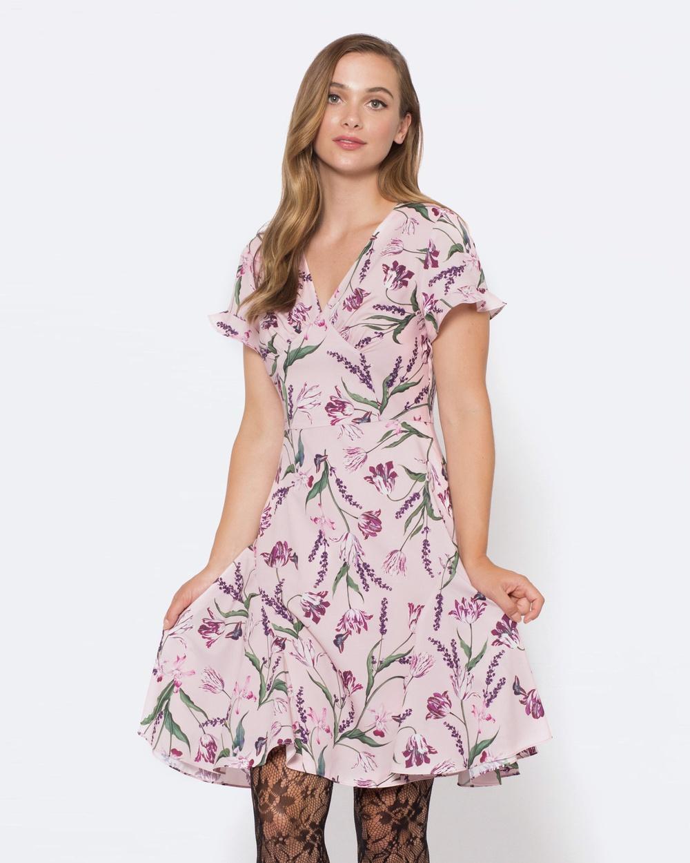Alannah Hill Midnight Hour Dress Dresses Pink Midnight Hour Dress