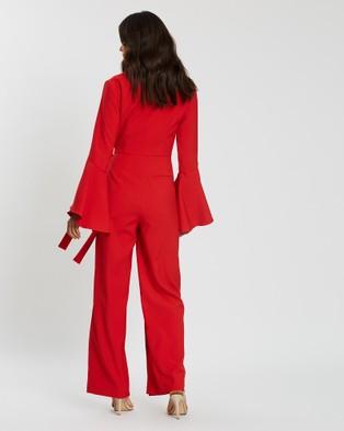Loreta Gin & Tonic Jumpsuit - Jumpsuits & Playsuits (Red)