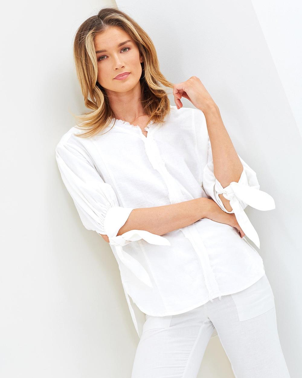 Wite Beachcomber Shirt Tops White Beachcomber Shirt