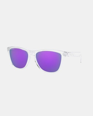 Oakley Frogskins - Square (Clear)