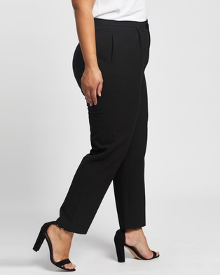 Atmos&Here Curvy Gigi Pants - Pants (Black)