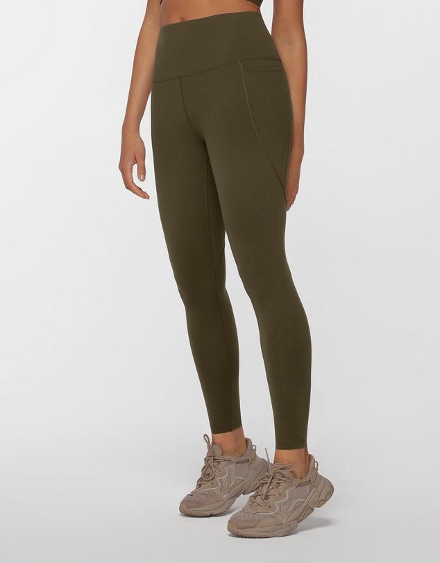 Women Amy Thermal Phone Pocket Full Length Leggings