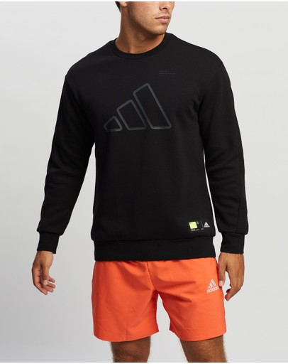adidas Performance - Badge of Sport Double Knit Sweatshirt