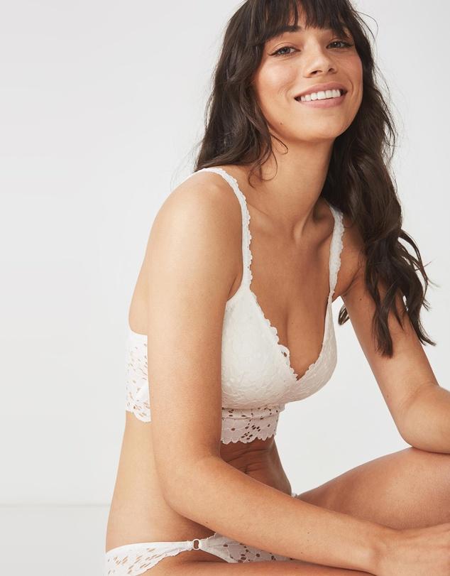 6d21c6d51279ff Hayley Longline Bralette by Cotton On Body Online