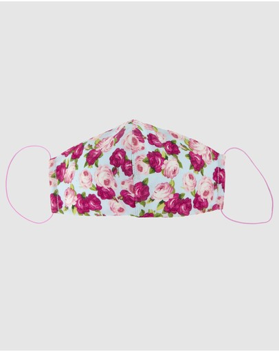 Cupid's Millinery Reusable Cotton Face Mask Black