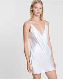 Michael Lo Sordo - Drape Crossover Mini Dress