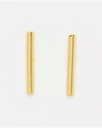 AVGVS - Orbis Bar Stud Earrings