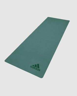 adidas Performance - Premium Exercise Mat Green All boxing (Green)