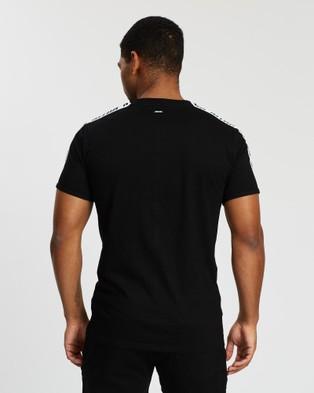 VILLIN Slim Fit Made Tee - T-Shirts & Singlets (Black)