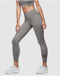 Jaggad - Classic High-Waisted 7/8 Leggings