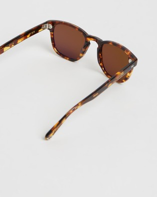 Pacifico Optical Yacht Master - Square (Cola with Polarised Brown Lens)