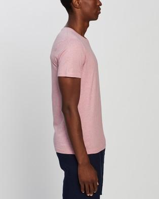 Marcs Marle Brando Crew - T-Shirts & Singlets (PINK)