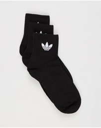 adidas Originals - Mid-Cut Crew Socks 3-Pack