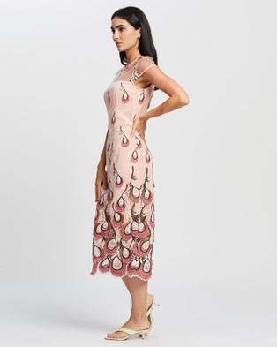 Romance by Honey and Beau Chantel Dress - Dresses (Nude & Pink)