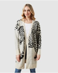 French Connection - Cheetah Cardigan