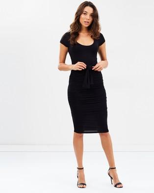 Fresh Soul – Candid Dress – Bodycon Dresses Black