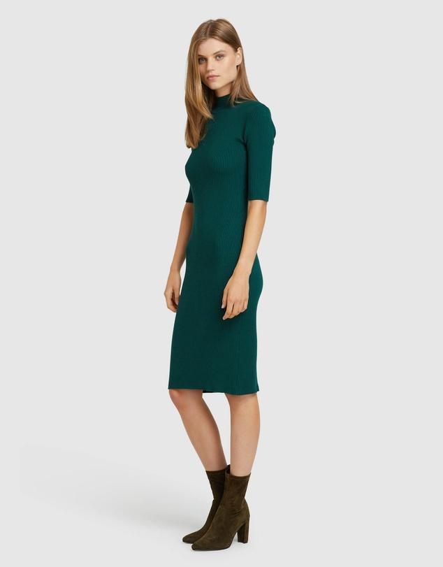 Women Frankie Rib Dress
