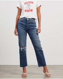 RE/DONE - Ultra High Rise Stove Pipe Jeans