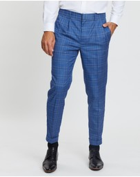 Double Oak Mills - Ashcroft Check Pull-On Pants