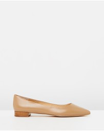 Atmos&Here - Cassia Leather Flats