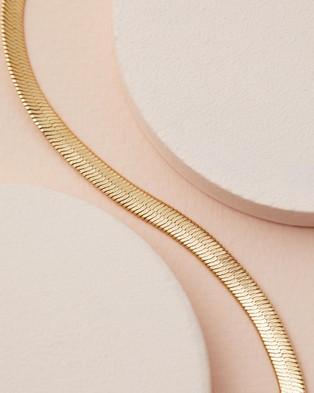 Luv Aj Luv Aj x Sivan Ayla   Barcelona Necklace - Jewellery (Gold)