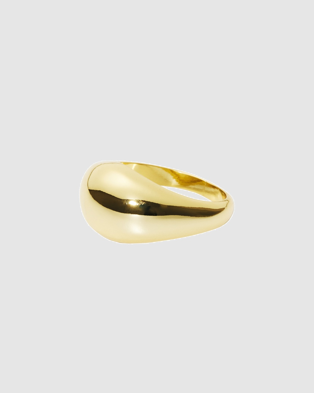 Nakedvice The Dome Ring Jewellery Gold