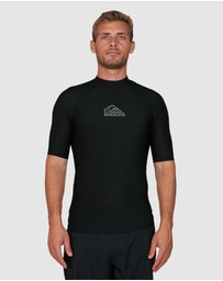 Quiksilver - Mens Heater Short Sleeve UPF 50 Rash Vest