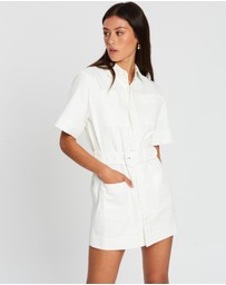 SIR THE LABEL. - Sabine Button Down Mini Dress