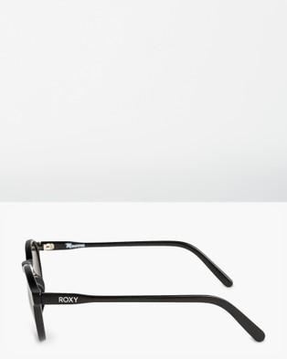 Roxy Womens Moanna Sunglasses - Sunglasses (SHINY BLACK GLITTERS)