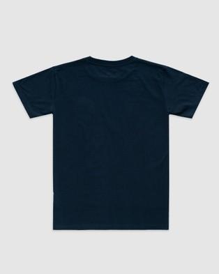 Stock & Co. - Original Explorer Tee   Teens - T-Shirts & Singlets (NAVY) Original Explorer Tee - Teens