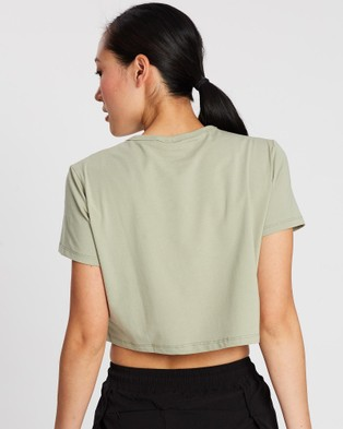 Doyoueven LYM Cropped Tee - Sports Tops & Bras (Khaki)
