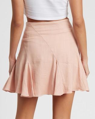 Savel Kiralee Mini Skirt - Skirts (Pink)
