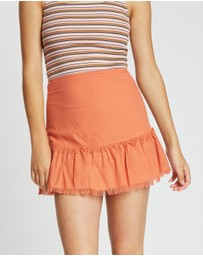 All About Eve - Beachy Mini Skirt