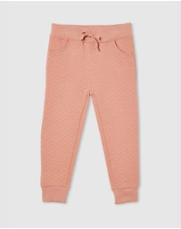 Milky - Quilted Track Pants - Kids