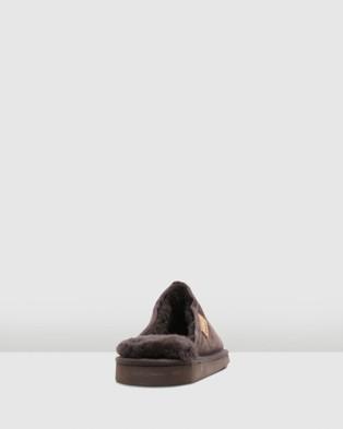 Hush Puppies Loch - Slippers & Accessories (Brown Suede)