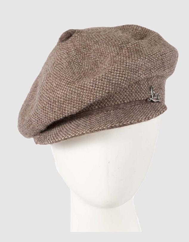 Women European Made Soft Woven Wool Beret Cap