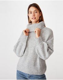 Cotton On - Roll Neck Pullover